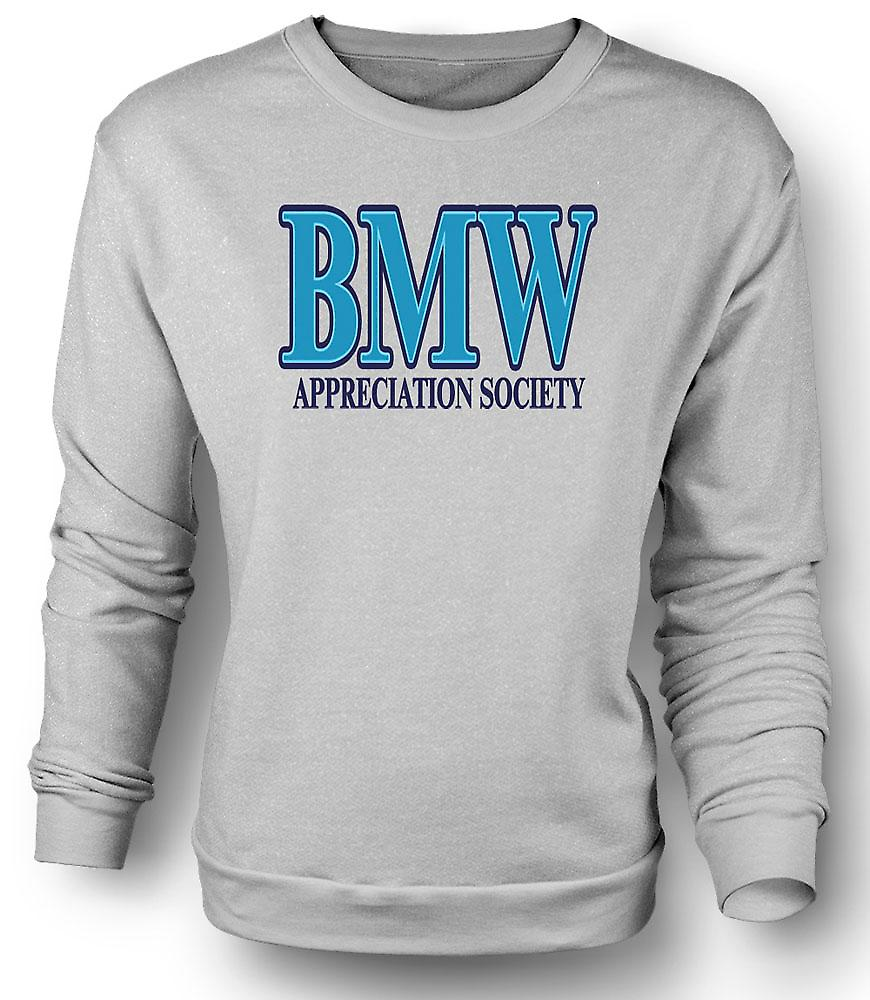 Mens Sweatshirt BMW Appreciation Society