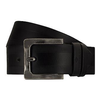 Jeans ceintures de hommes ceintures en cuir TOM TAILOR ceinture ceinture noire 7754