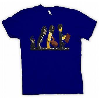 Kids t-shirt - Lego Mans evolución - gracioso