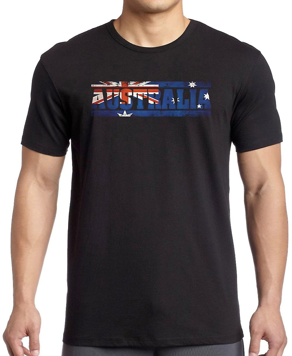 Australia Australia Flag - Words Kids T Shirt