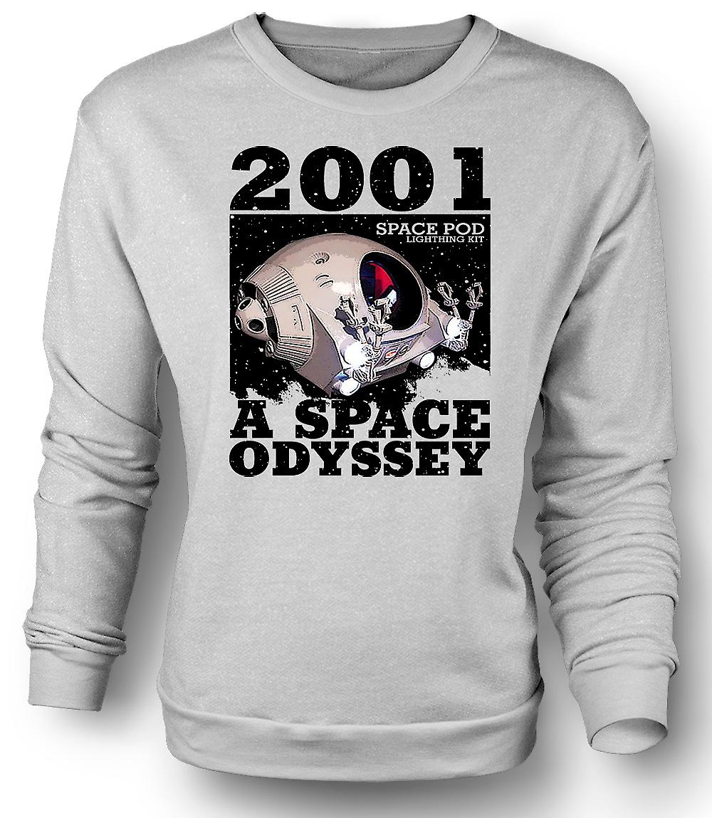 Mens Sweatshirt 2001 Space Odyssey - Space Pod