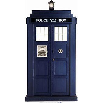 Il Tardis - BBC Doctor Who / Dr Who / Dr. Who - cartone Lifesize ritaglio / Standee