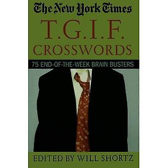 New York Times T.G.I.F. ristisanatehtäviä