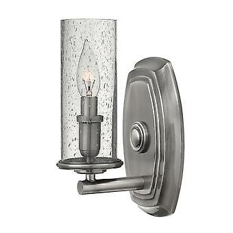 Elstead-1 lys væg lys-poleret nikkel finish-HK/DAKOTA1