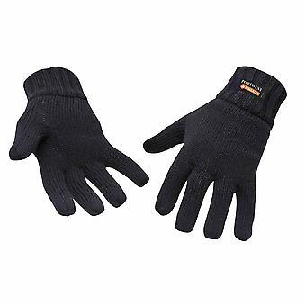 sUw - Knit Glove Insulatex Lined Black Regular