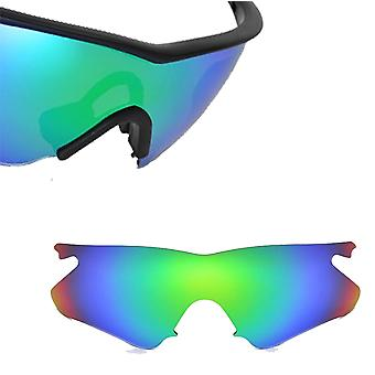Vented M Frame Heater Asian Replacement Lens Polarized Green by SEEK fits OAKLEY