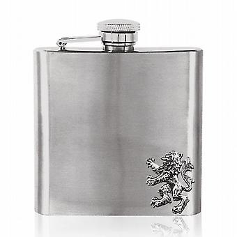 6oz Stainless Steel Lion Flask - Fb240