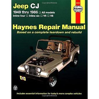 Jeep C.J.1949-86 Automotive Repair Manual (3rd Revised edition) by J.