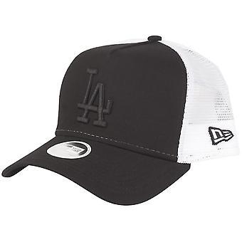 New Era Damen Trucker Cap - Los Angeles Dodgers schwarz