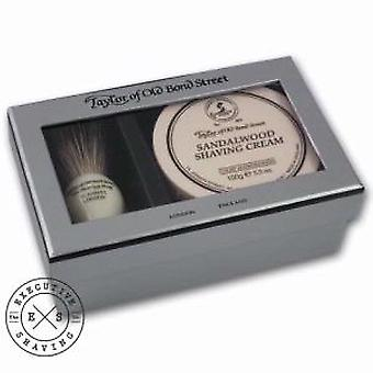 Taylor of Old Bond Street Sandalwood Shaving Gift Set