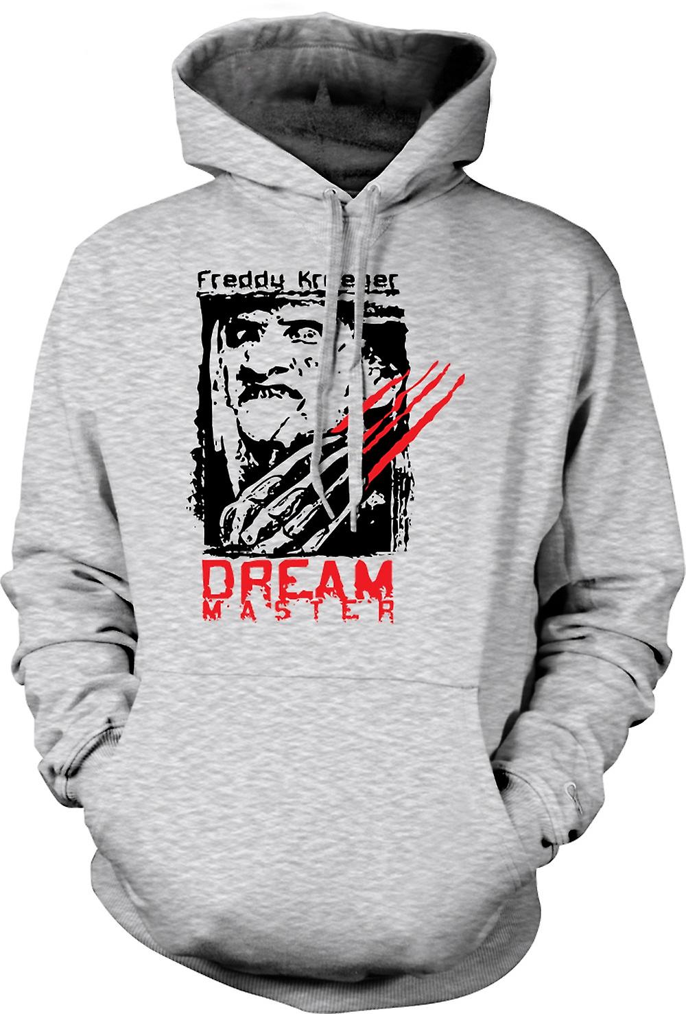 Mens Hoodie - Freddy Krueger Dream Master - Horror