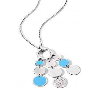 Miss Sixty Paillettes Turquoise Necklace SMSC07