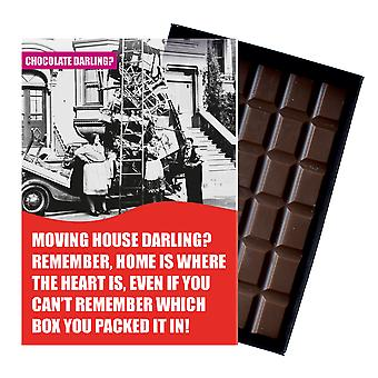Well Miss You House Move Or Moving Home Gift Boxed Chocolate Greeting Card Present CDL127