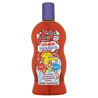 Kids Stuff Crazy Soap Colour Changing Bubble Bath ~ Red To Blue