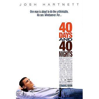 40 Tage und 40 Nächte (2002) Original Kino Poster