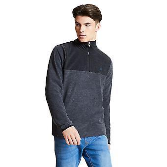 Dare 2b Mens Obstinate Half Zip Polyester Marl Fleece Jacket