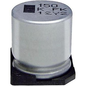 Electrolytic capacitor SMD 1000 µF 10 V