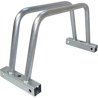 Cycle stand No. of parking spaces=1 VISO VELO1 Steel Silver