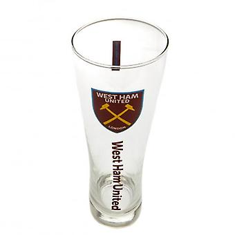 West Ham United hoog bierglas