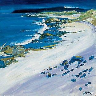John Lowrie Morrison print - Beach of the Seat, Iona
