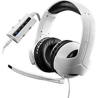 Gaming headset USB, 3.5 mm jack Corded Thrustmaster Y-300CPX Over-the-ear White, Black