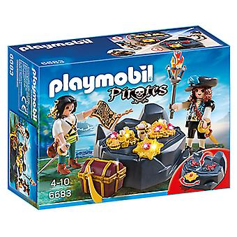 Playmobil 6683 The Hidden Treasure (Toys , Dolls And Accesories , Miniature Toys , Sets)