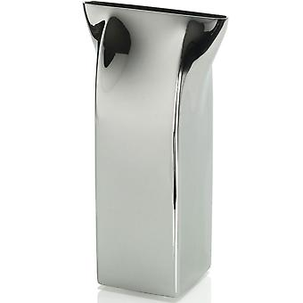 Alessi Pinch Stainless Steel Vase