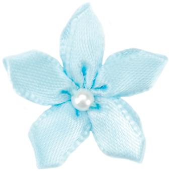 Ribbon Violets 6/Pkg-Light Blue 15259-305