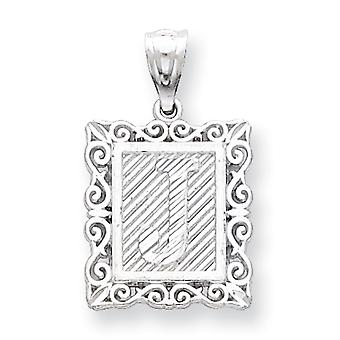 Charm in argento Sterling J iniziale