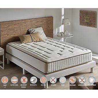 Mattress Viscoelastic Luxury Comfort Cashmere 26 cm height (+/- 2cm) 160_x_195_cm