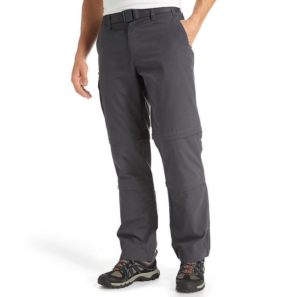 New gris Brasher Men&s Double Zip-Off Trousers