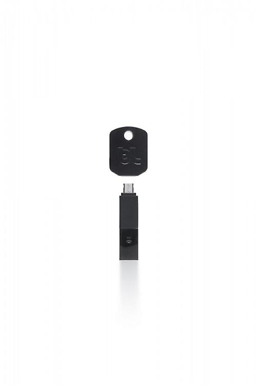 Bluelounge Kii microUSB charging and synchronization plug smartphones, tablets in black