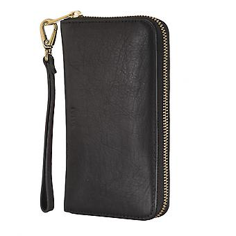 FOSSIL ladies wallet purse coin purse with RFID-chip protection black 4793