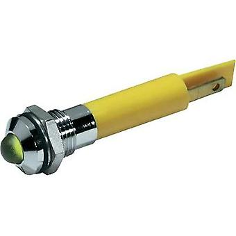 LED indicator light Yellow 230 Vac