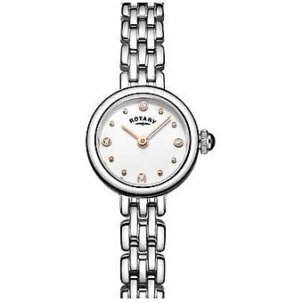 Rotary Womans Elegant Stainless Steel Cocktail LB05052/02 Watch