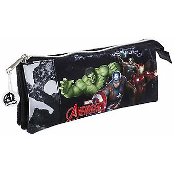 Safta Portatodo Triple Avengers Gallery Edition (Toys , School Zone , Pencil Case)