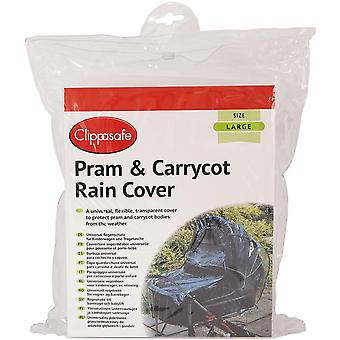 Clippasafe Universal Pram & Carrycot Raincover - Large