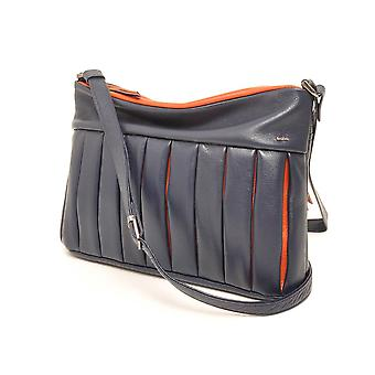 Berba ¼ rich without cross-over 305-210 Navy/Orange