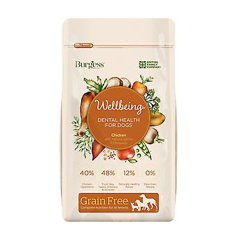 Burgess Wellbeing Grain Free Dental Health Chicken 10kg