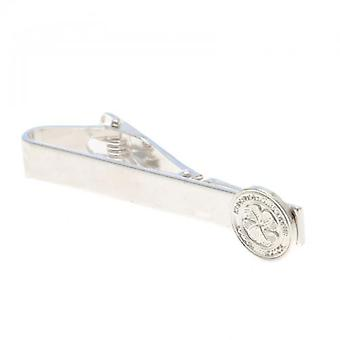 Celtic Silver Plated Tie Slide