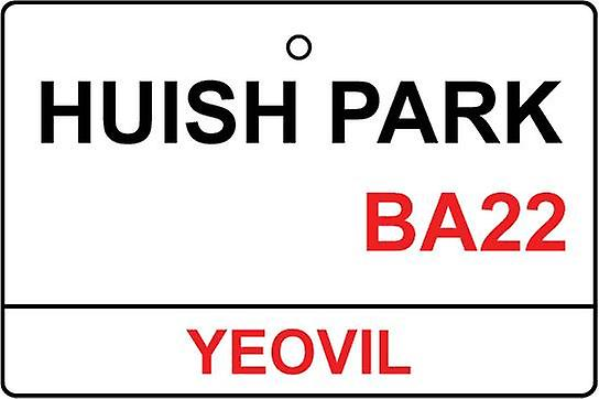 Yeovil / Huish Park Street Sign Car Air Freshener