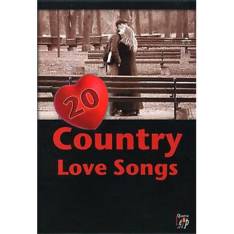 20 Country Love Songs [DVD] USA import