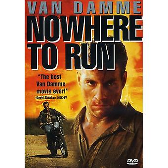 Nowhere to Run [DVD] USA import