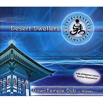 Desert beboere - ned tempel Dub: Bølger [CD] USA import