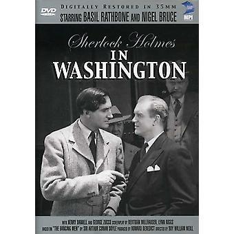 Sherlock Holmes: I Washington [DVD] USA importerer