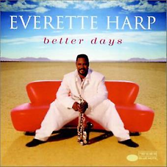 Everette Harp - Better Days [CD] USA import