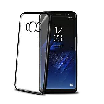 Celly Laser Cover Galaxy S8 Black