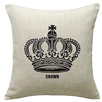 Wellindal Queen Cotton Cushion Cover (Decoratie , Textiel , Kussens , Kussens)