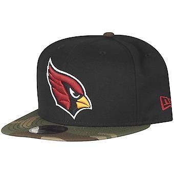 New era 9Fifty Snapback Cap - Arizona Cardinals black camo