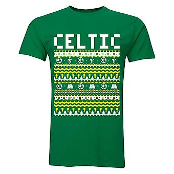 Celtic Christmas t-shirt (Green)